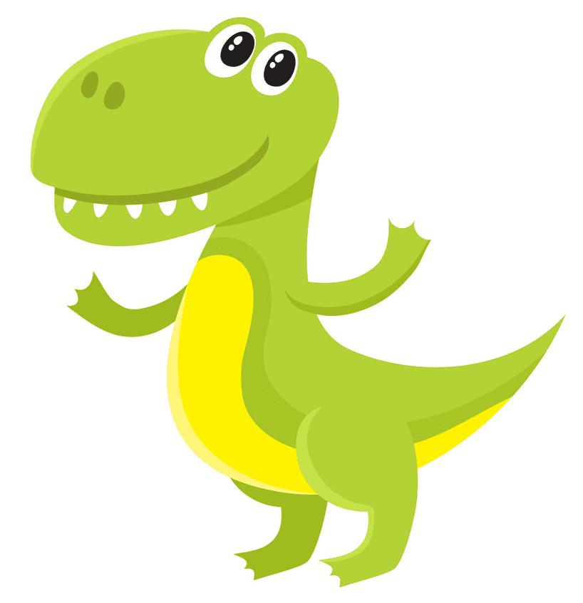 Cute T-Rex clipart image