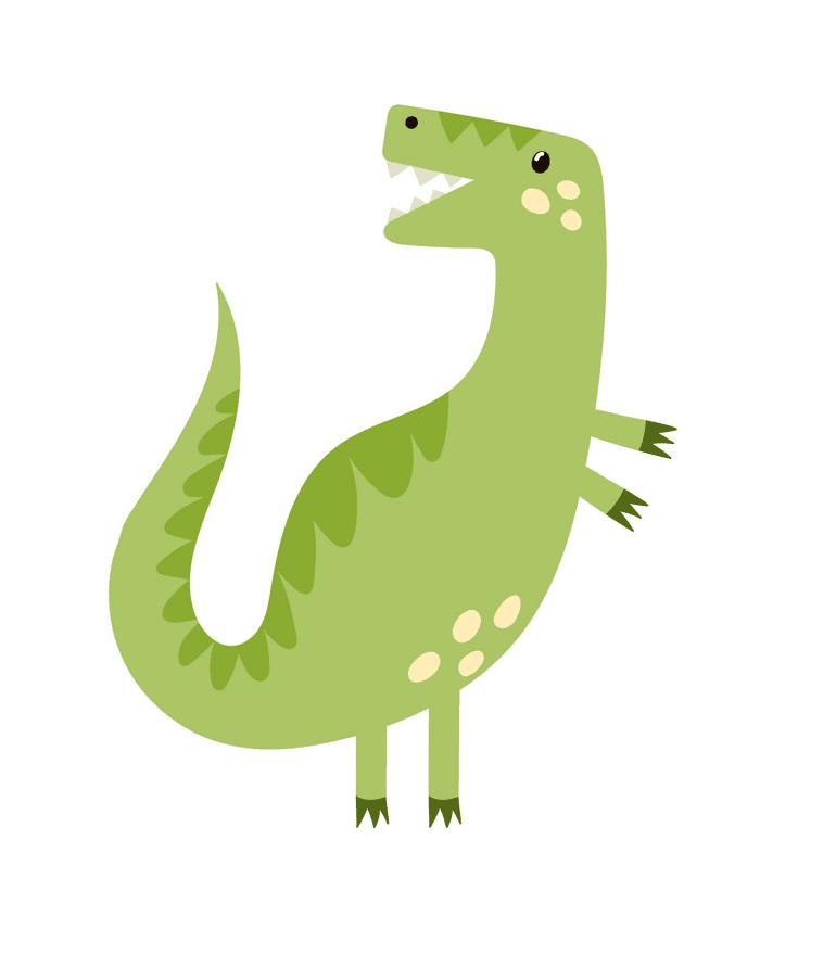 Cute T-Rex clipart png images