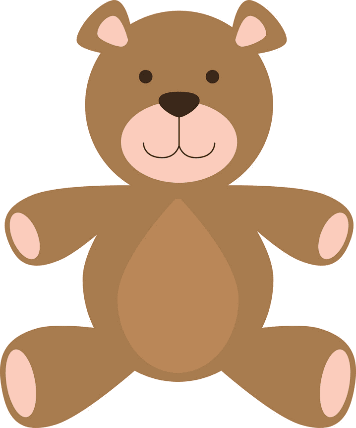 Cute Teddy Bear clipart download