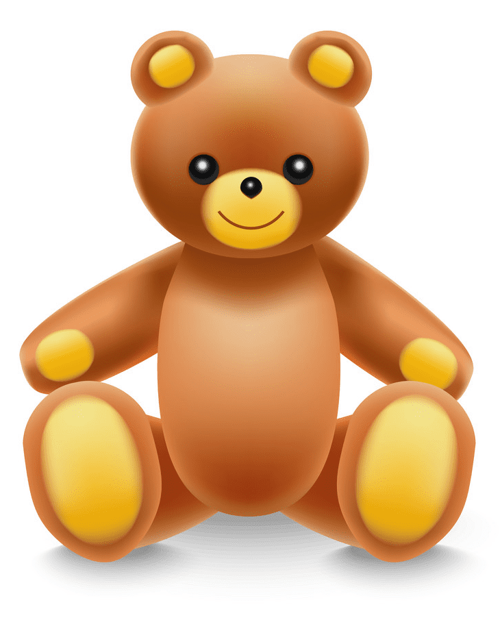 Cute Teddy Bear clipart free download