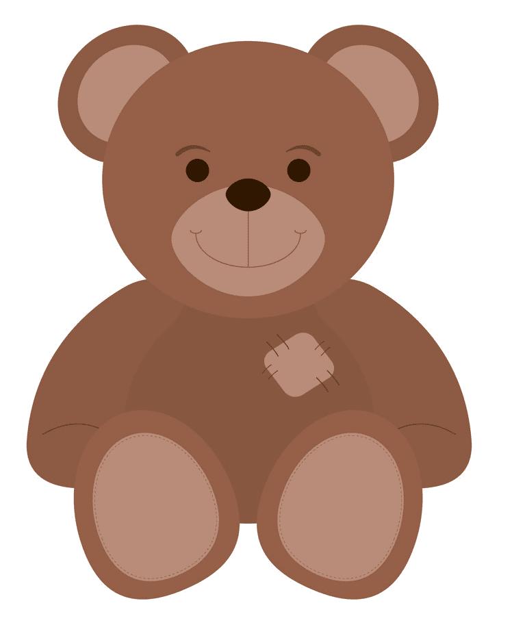 Cute Teddy Bear clipart free image