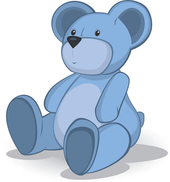 Cute Teddy Bear clipart free