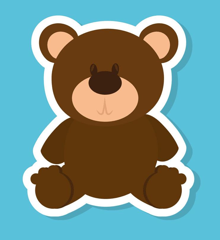Cute Teddy Bear clipart image