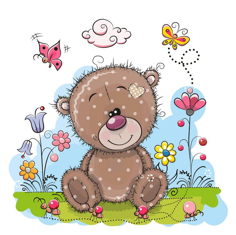 Cute Teddy Bear clipart images