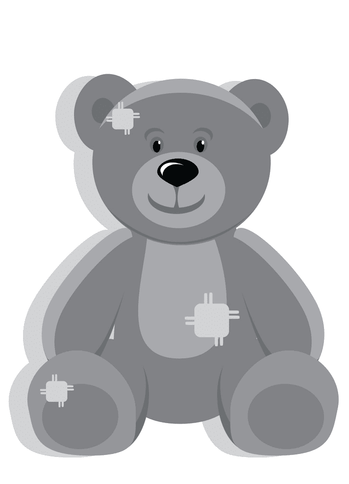 Cute Teddy Bear clipart png image