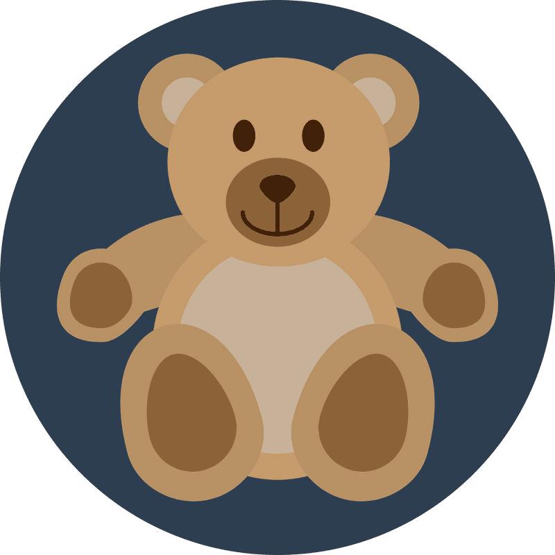 Cute Teddy Bear clipart png