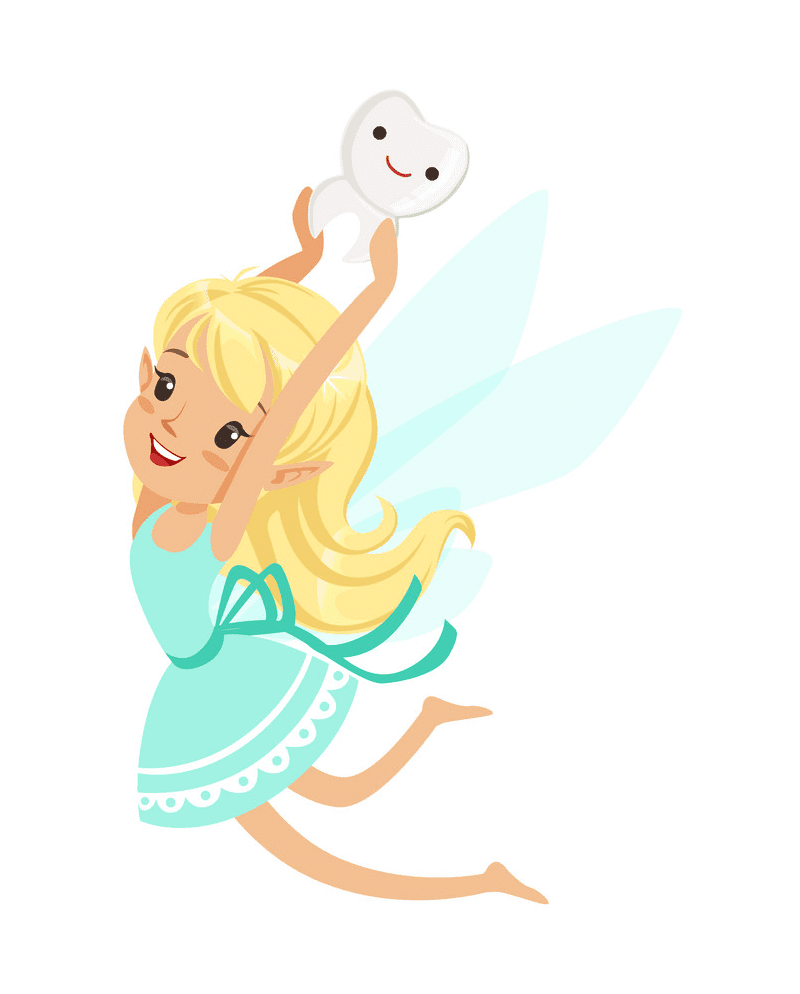 Cute Tooth Fairy clipart