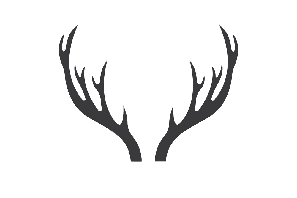 Deer Antlers clipart free images
