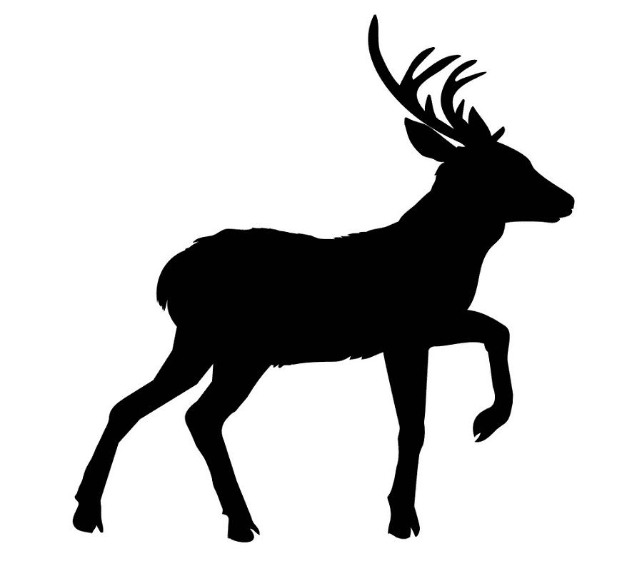 Deer Clipart Silhouette 3