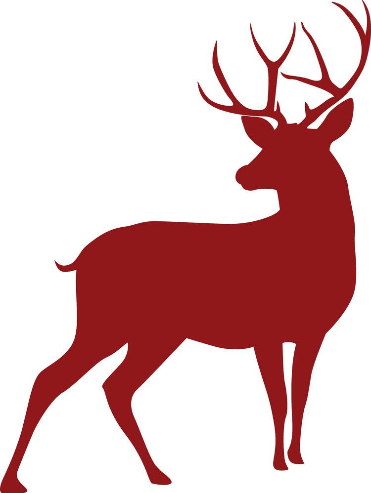 Deer Clipart Silhouette 4