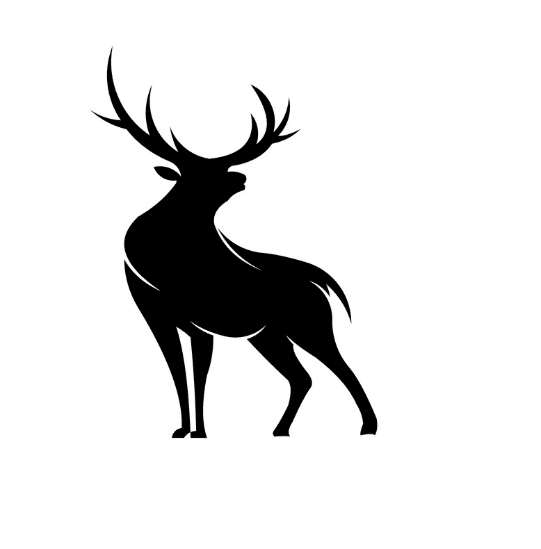 Deer Clipart Silhouette png