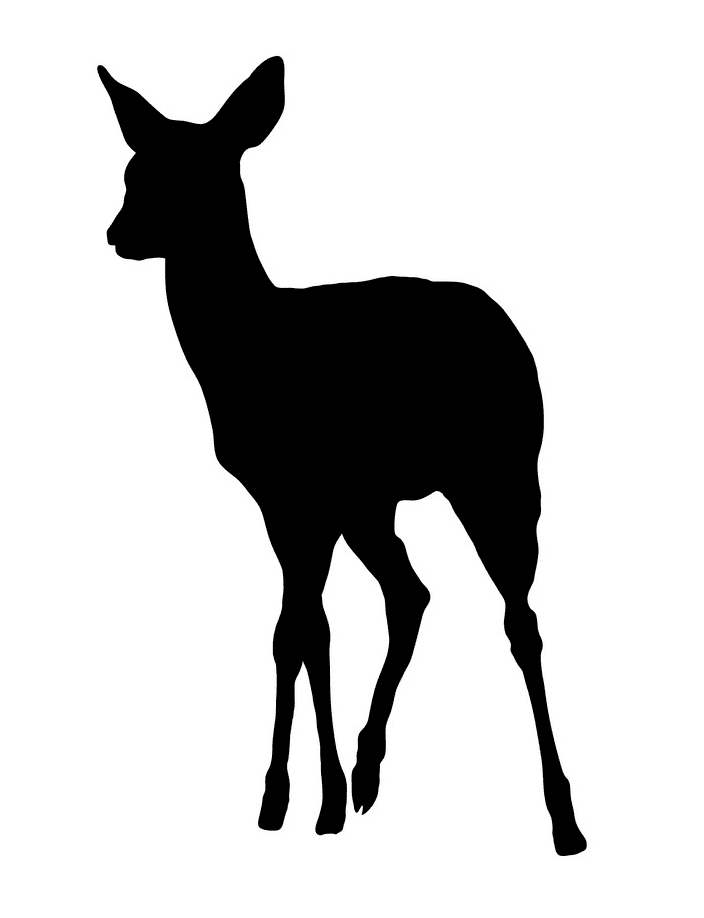 Deer Clipart Silhouette