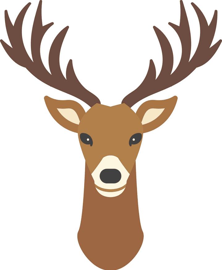 Deer Head clipart image