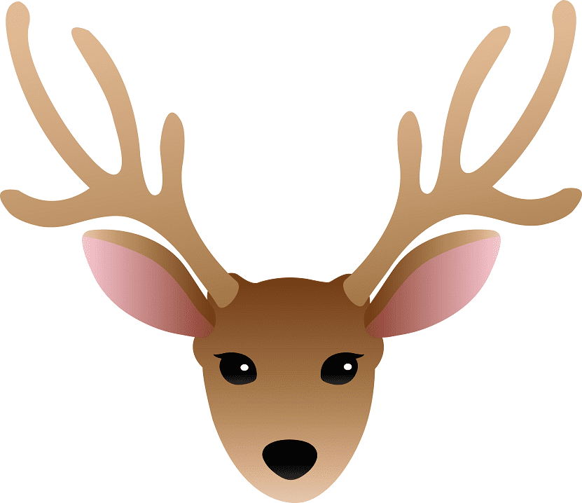 Deer Head clipart png images