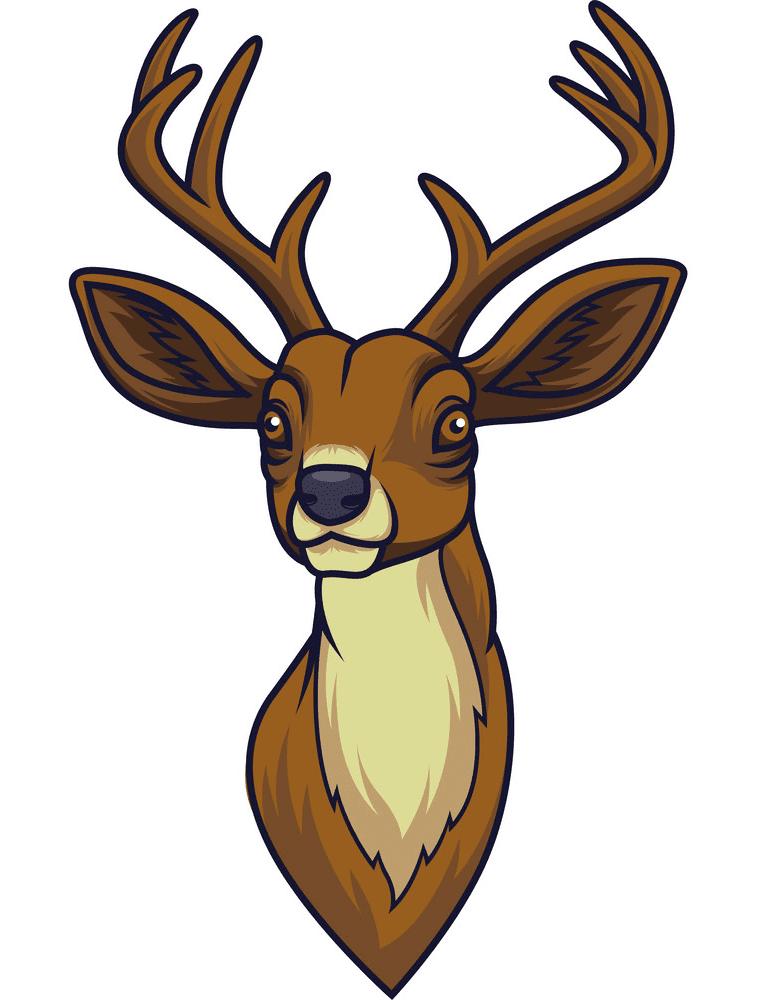 Deer Head clipart png