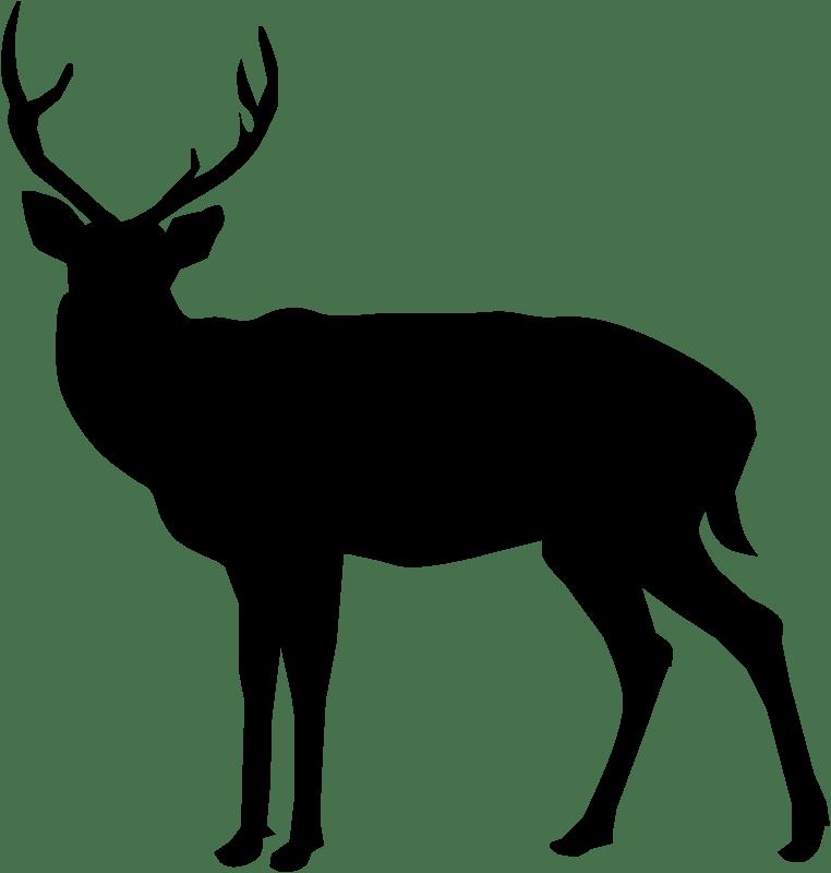 Deer Silhouette clipart