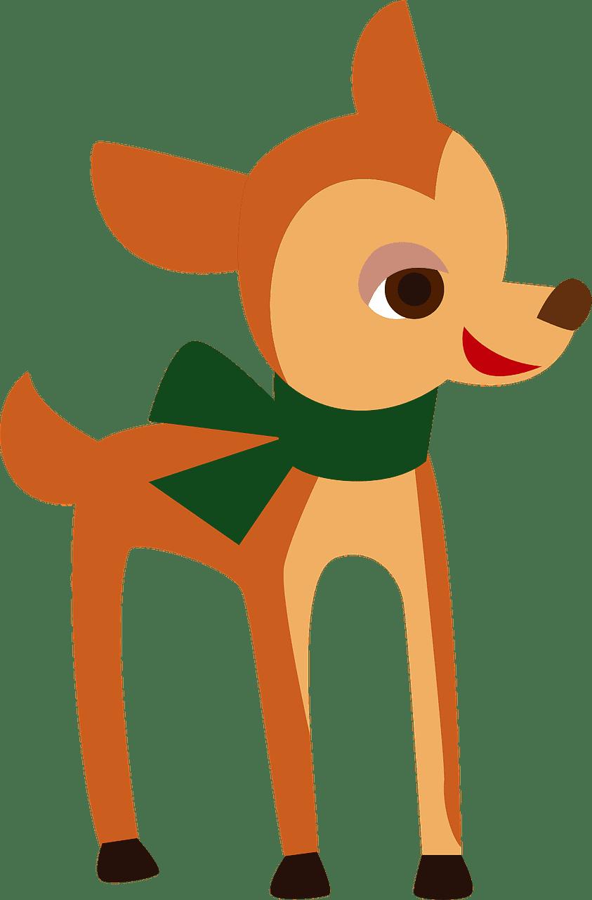 Deer clipart transparent background 4