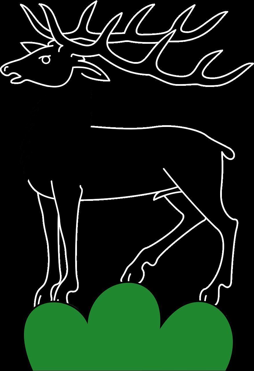 Deer clipart transparent free