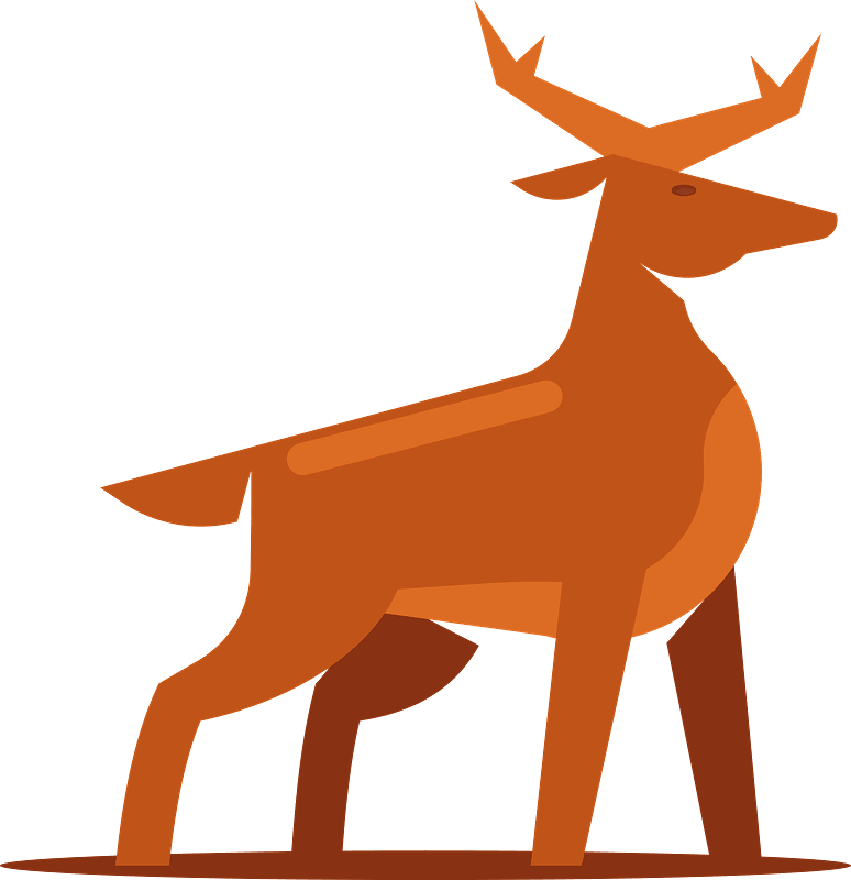 Deer clipart transparent image