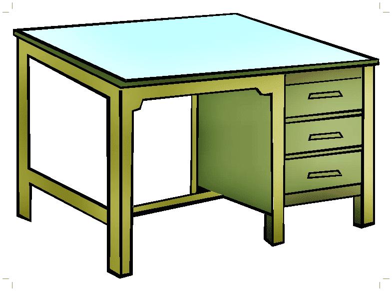 Desk clipart 1