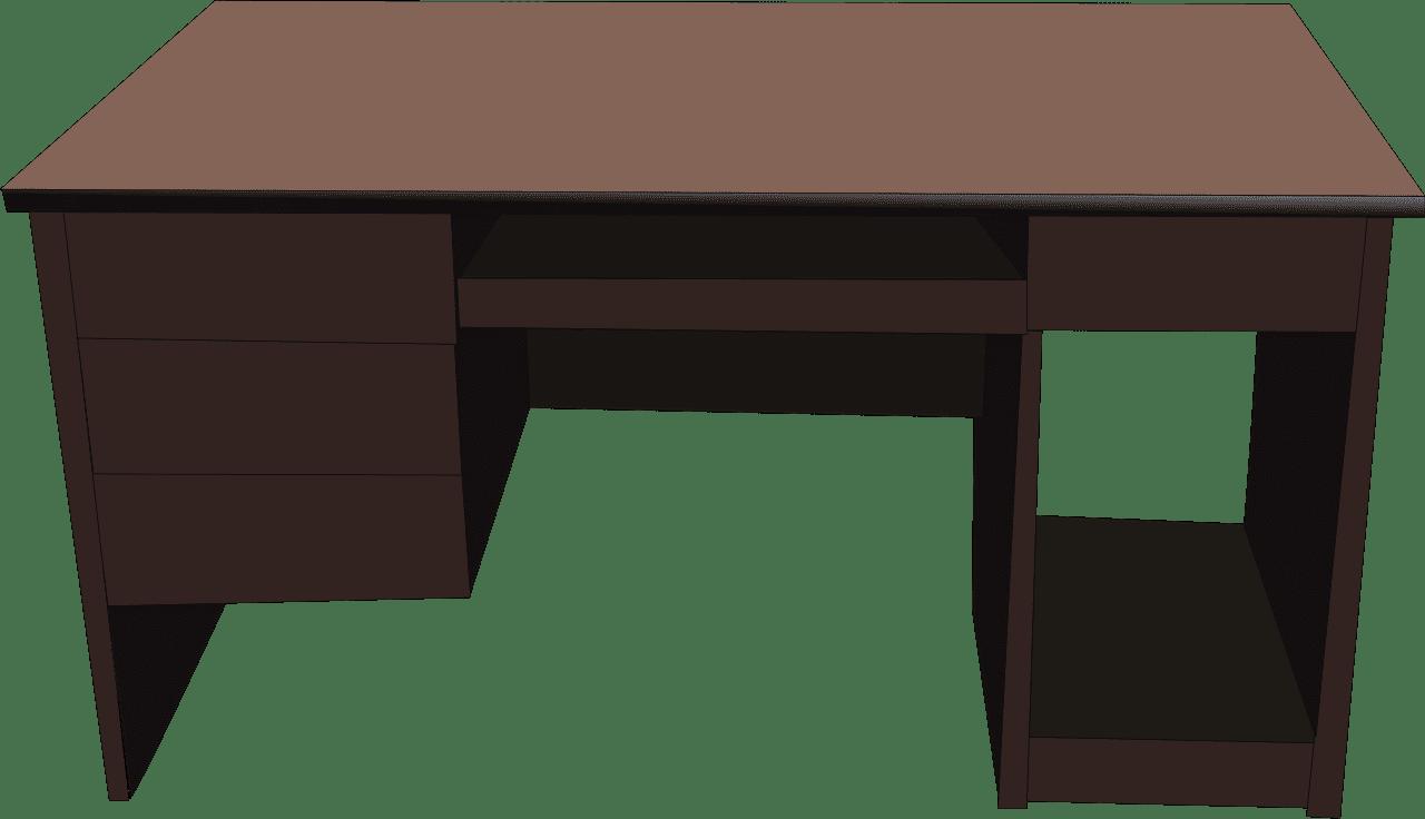 Desk clipart transparent