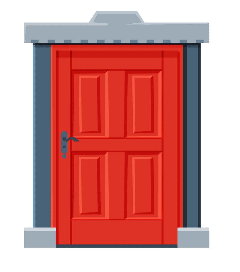 Door clipart 1