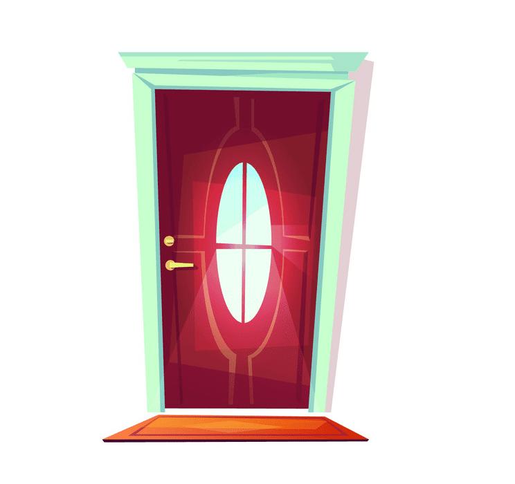 Door clipart 4