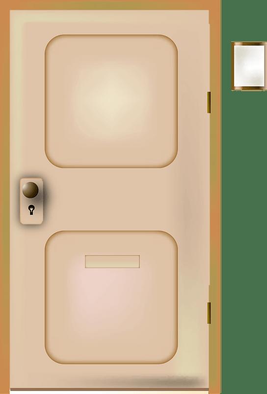 Door clipart transparent 1
