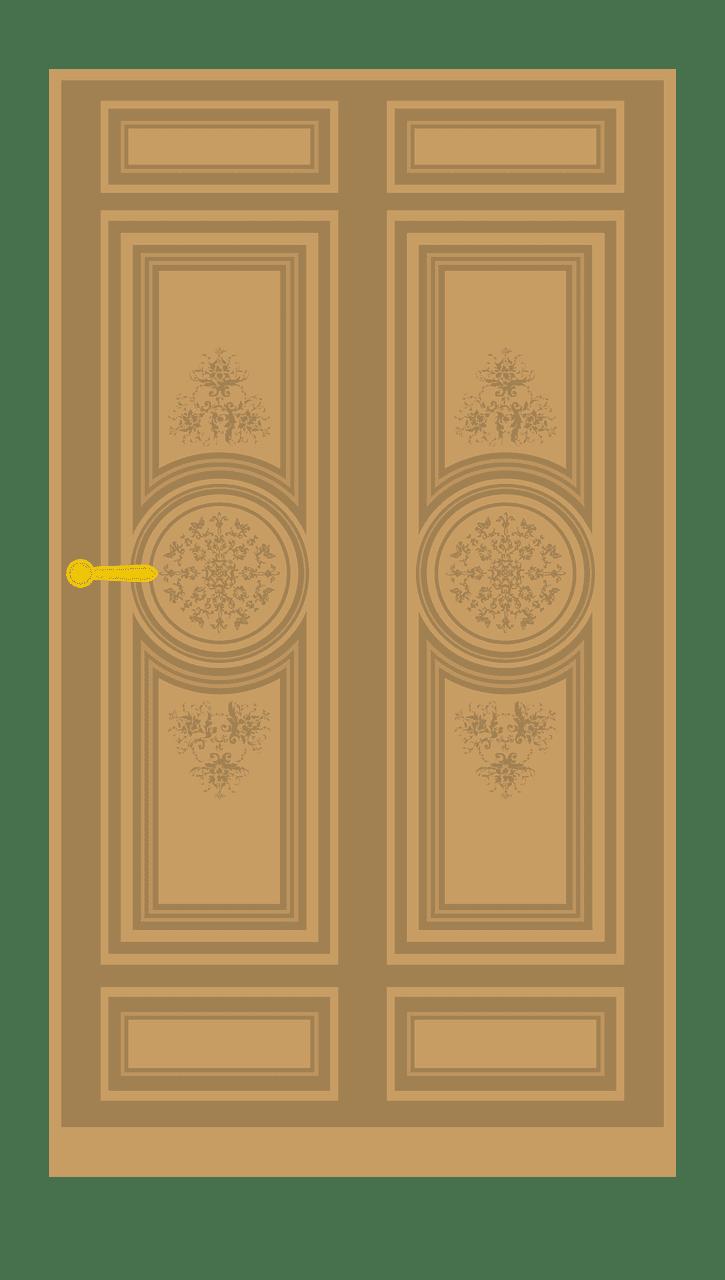 Door clipart transparent 12