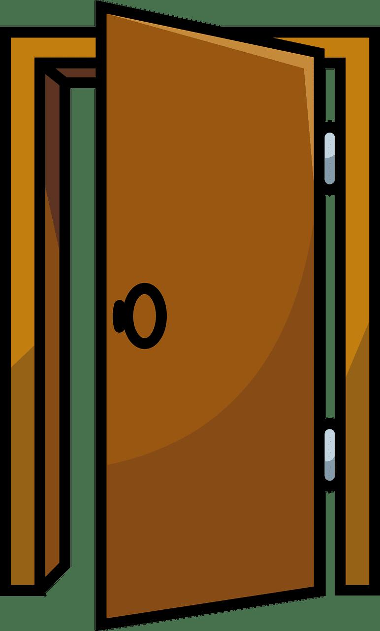 Door clipart transparent 15