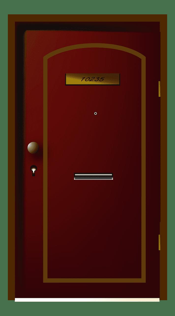 Door clipart transparent 2