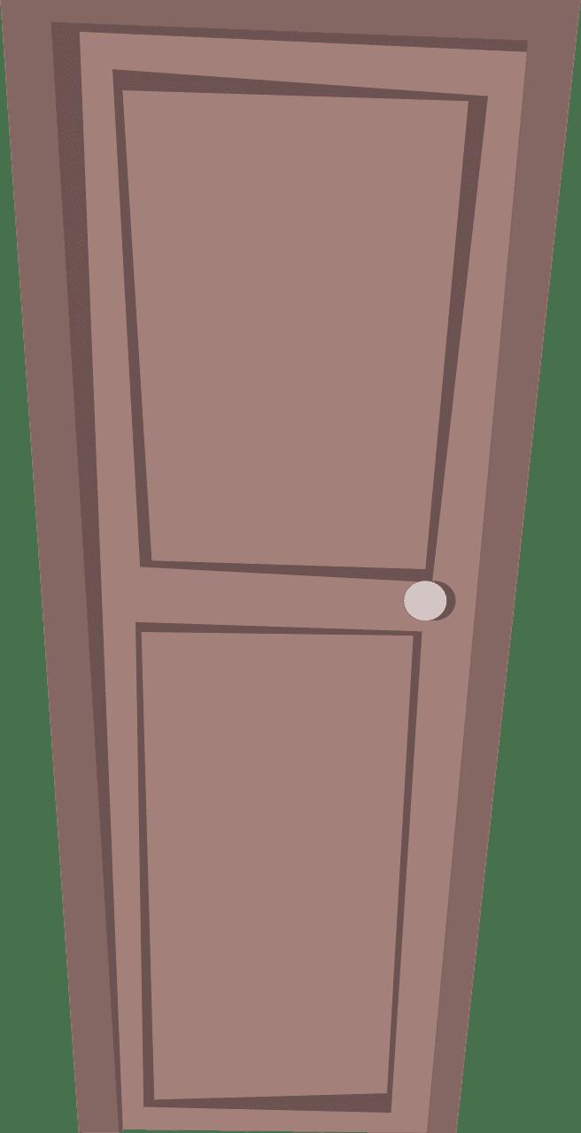 Door clipart transparent 3