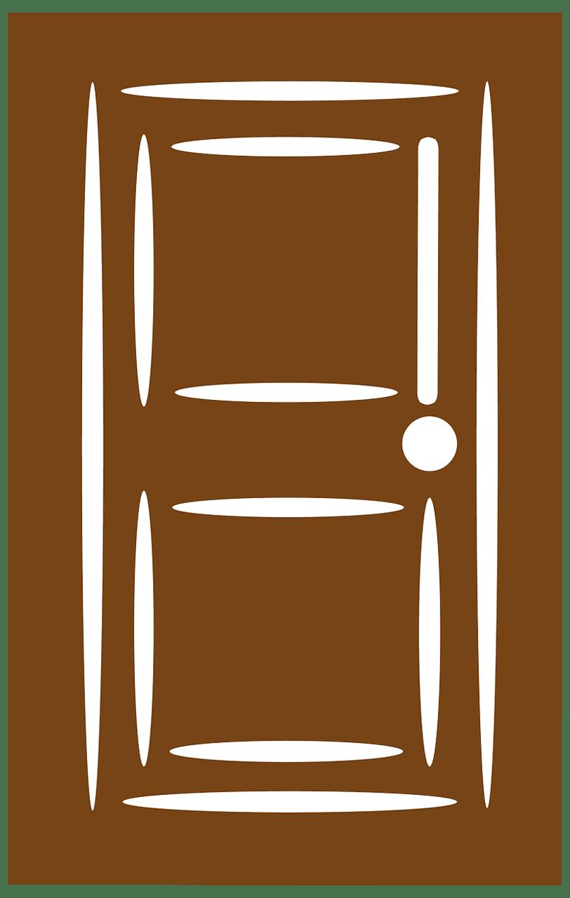 Door clipart transparent 4