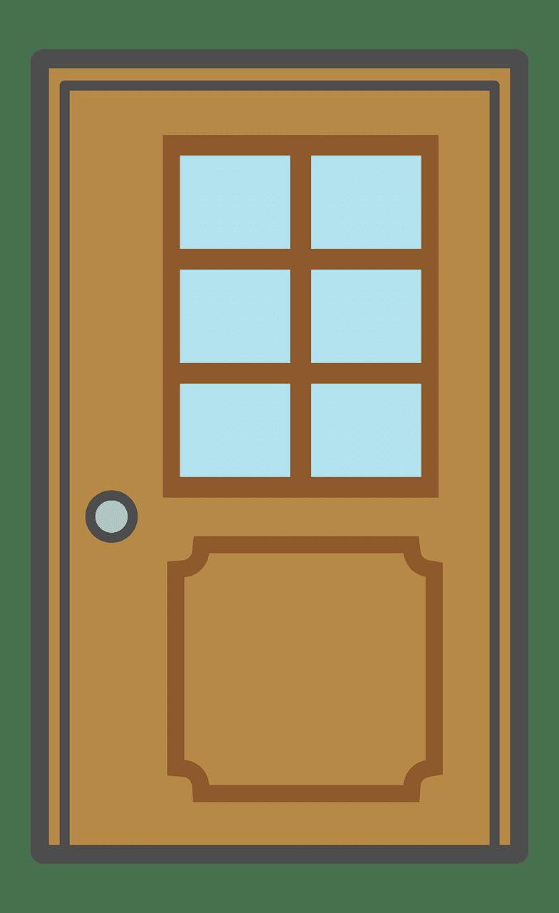 Door clipart transparent 7