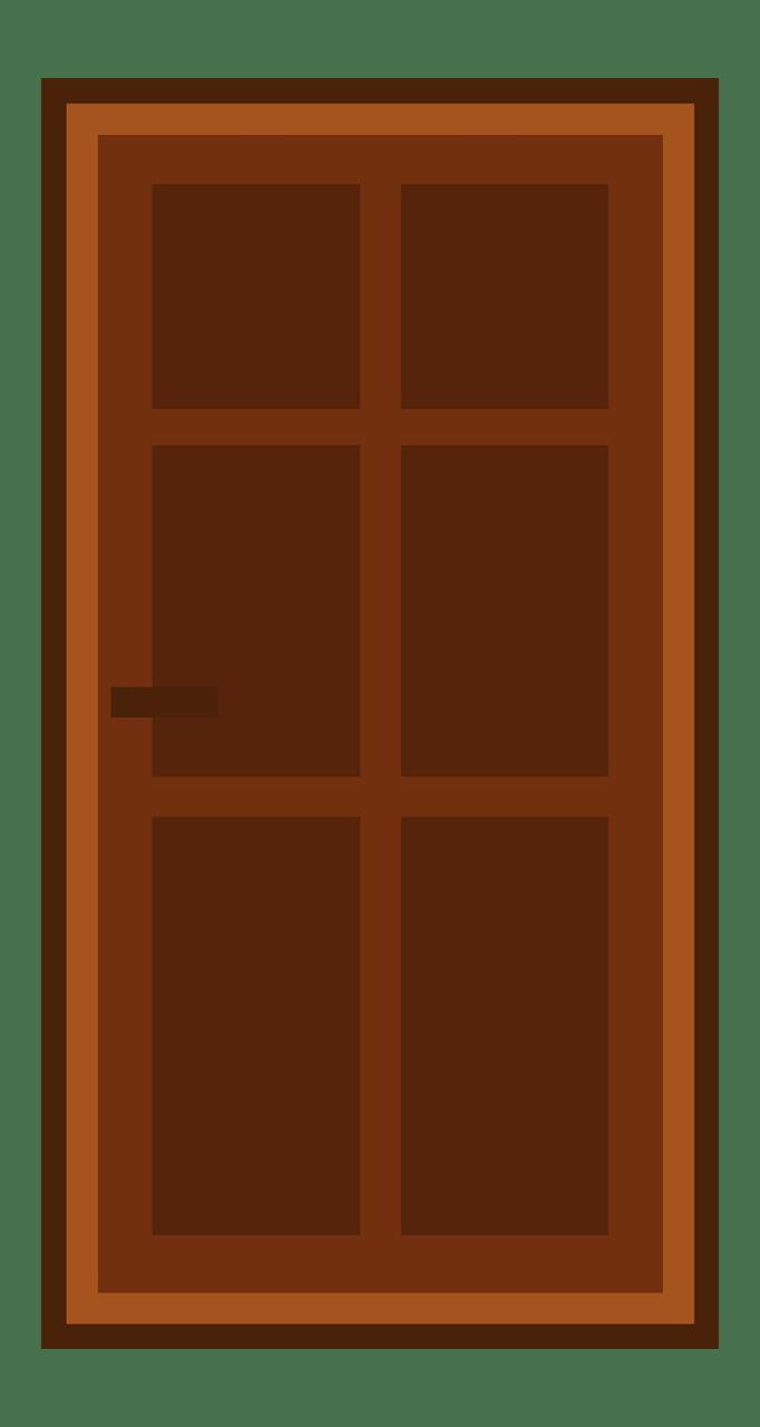 Door clipart transparent 8