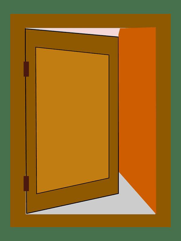Door clipart transparent background 10