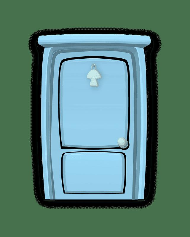 Door clipart transparent background 16
