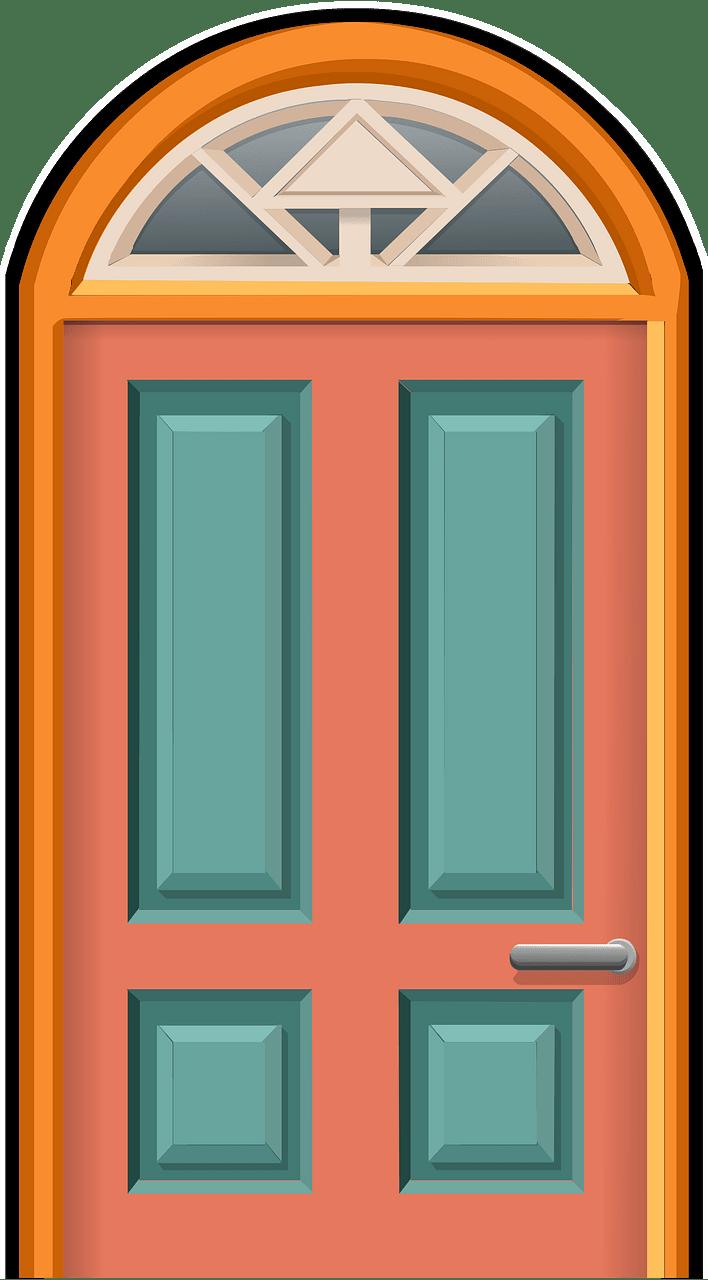 Door clipart transparent background 18