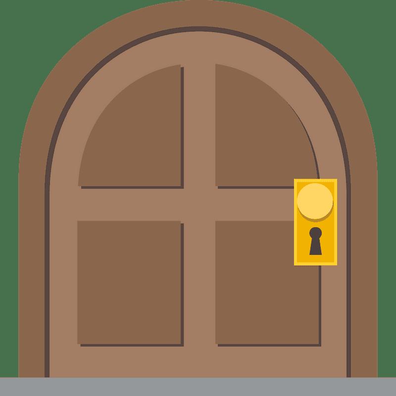 Door clipart transparent background 3