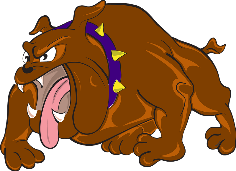Download Bulldog clipart transparent background for free