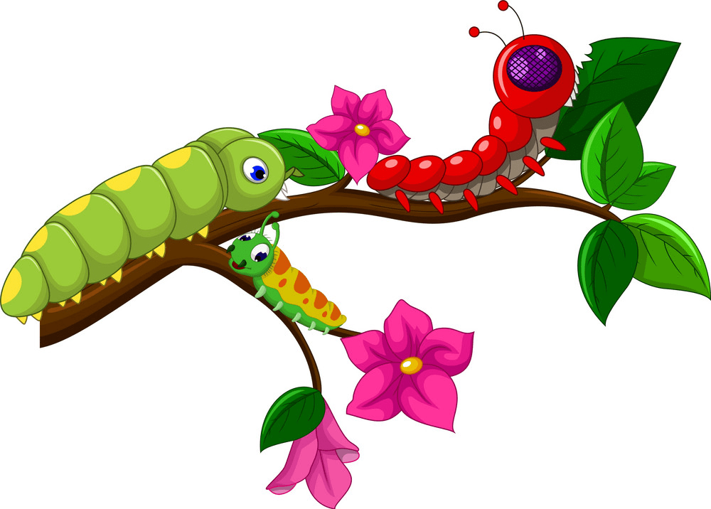 Download Caterpillar clipart for free