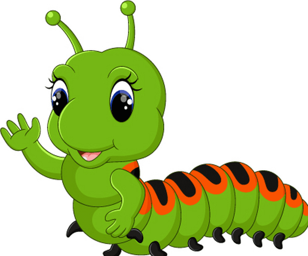 Download Cute Caterpillar clipart png free