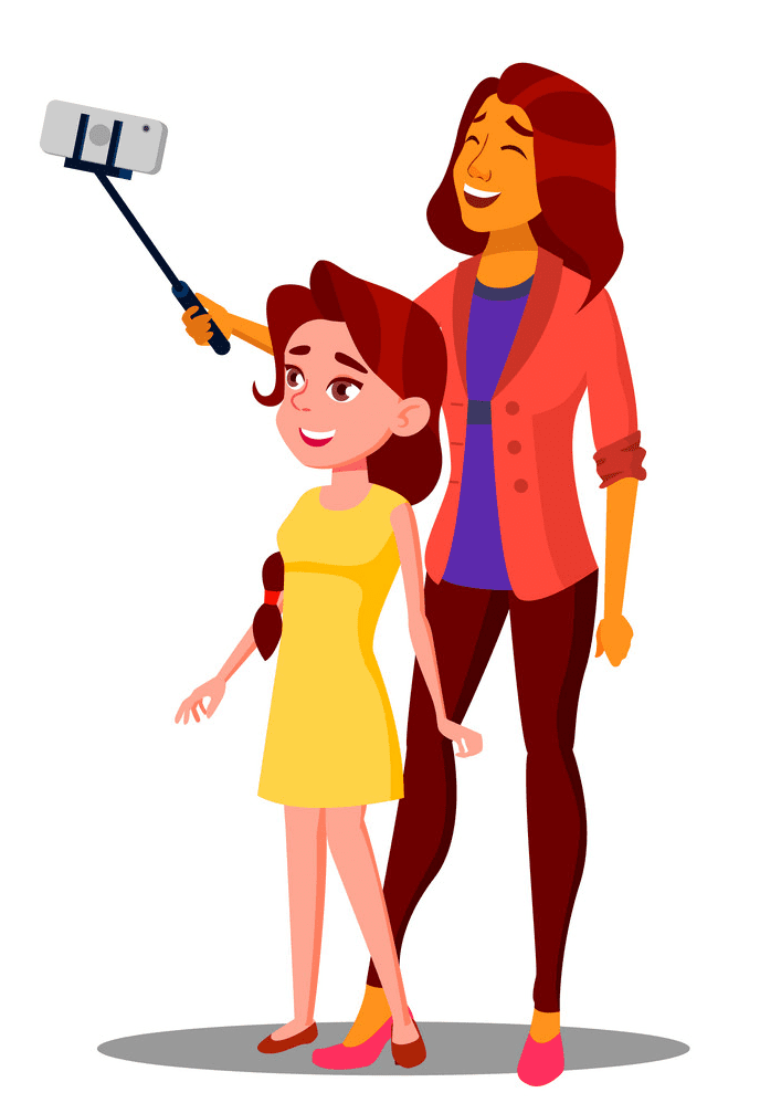 Download Mom and Daughter clipart images