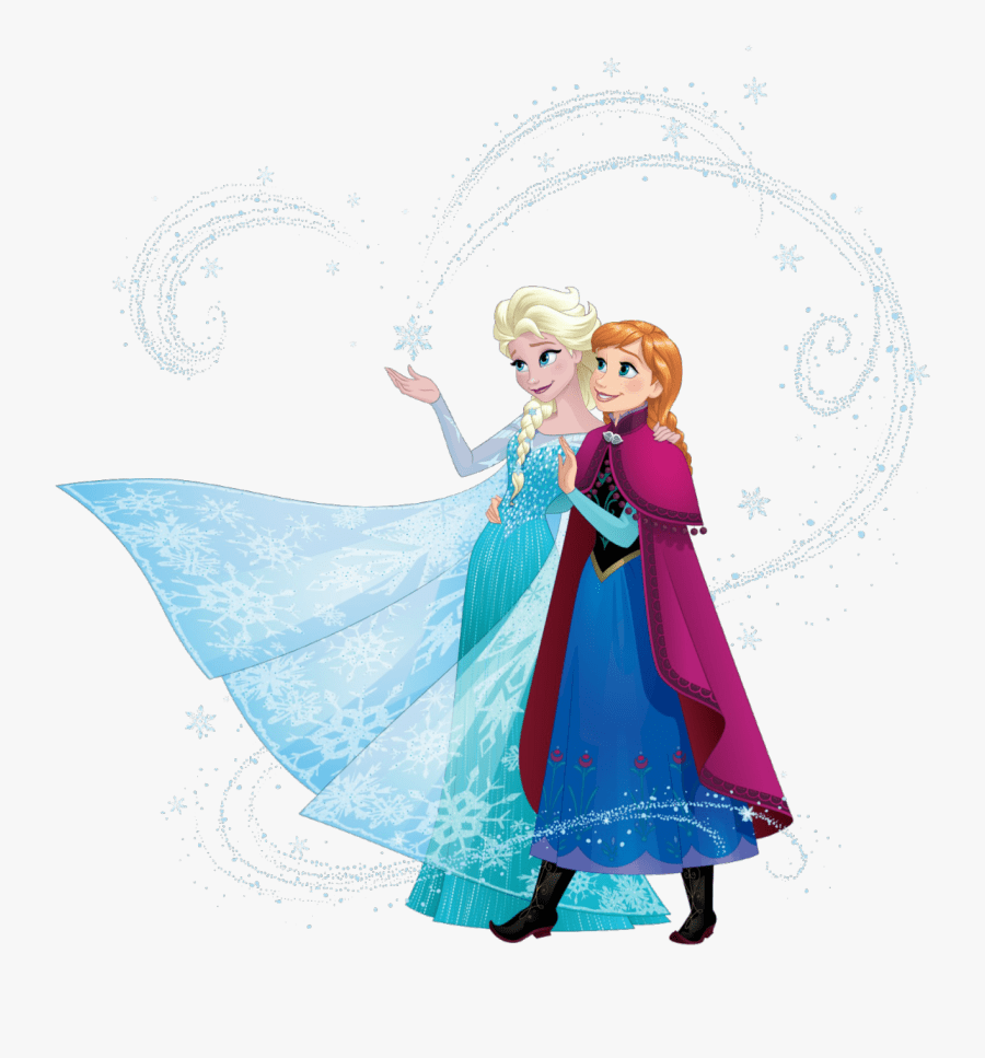 Elsa and Anna clipart