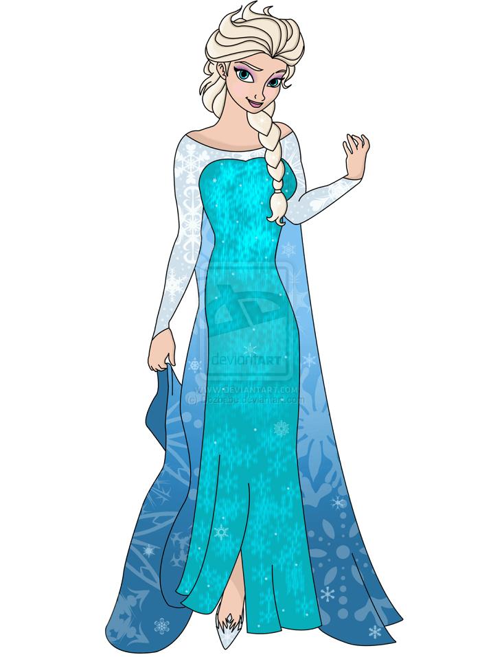 Elsa clipart 10