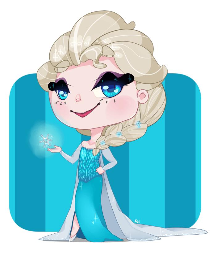 Elsa clipart 4