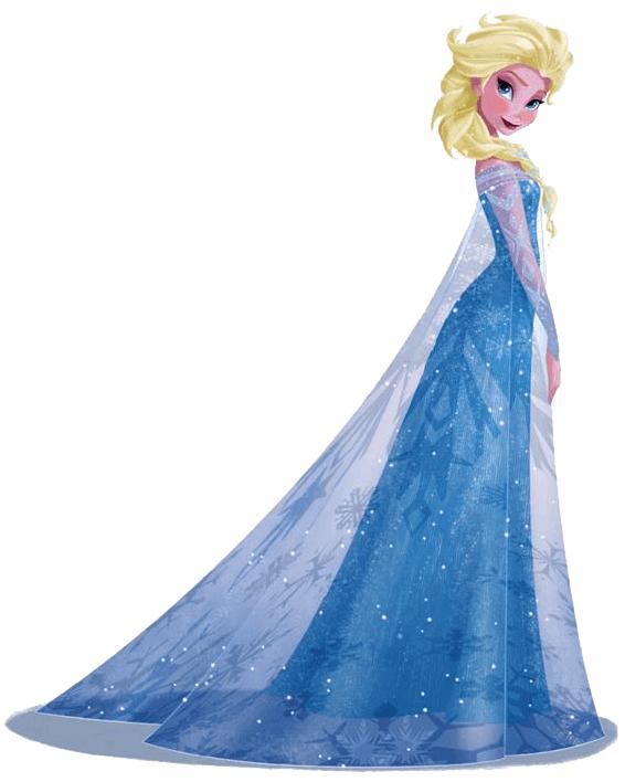 Elsa clipart 6