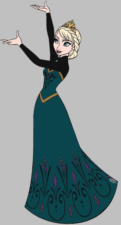 Elsa clipart 8