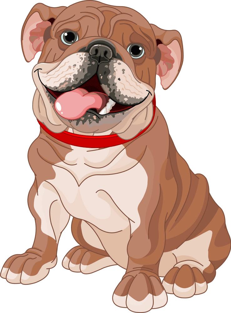 English Bulldog clipart image
