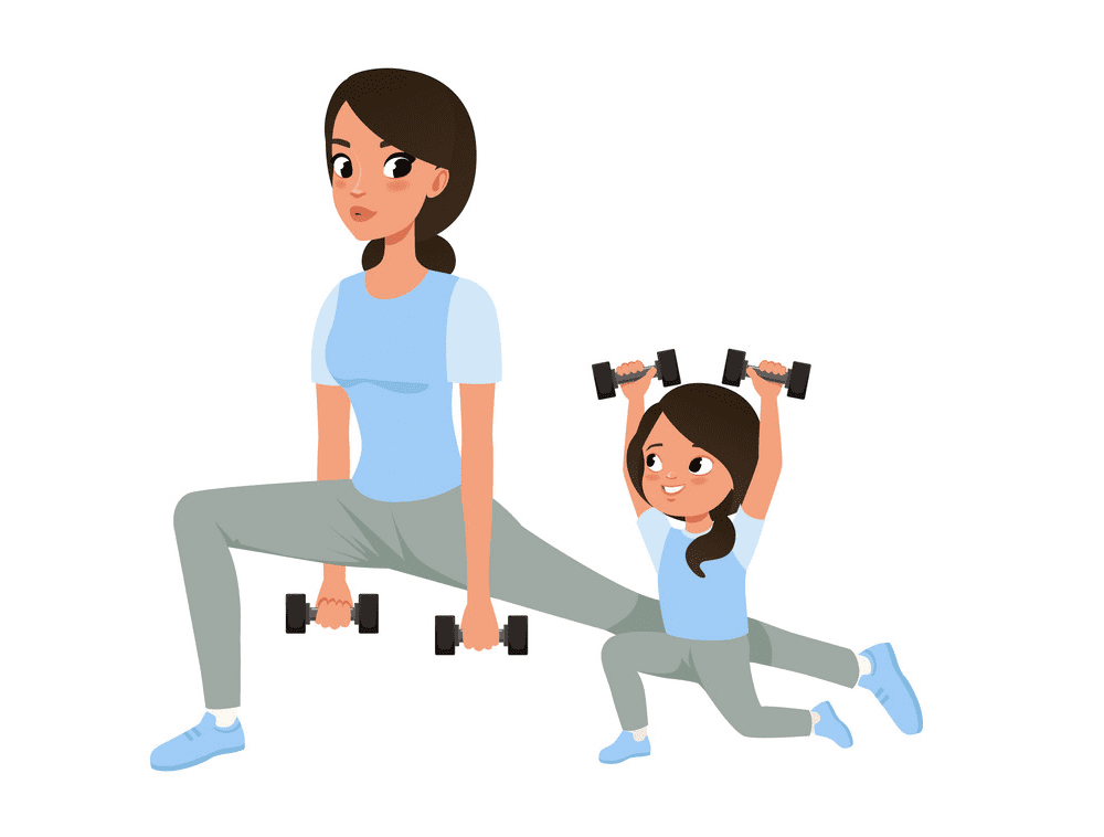 Exercise clipart 4